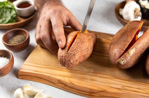 Stuff Sweet Potato_Step 2