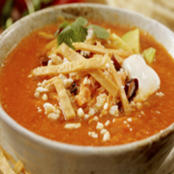 Recipe Summer Chicken and Lime Tortilla Soup S