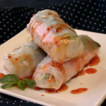 Recipe Summer Rolls with Thai Sweet Chili Sauce S