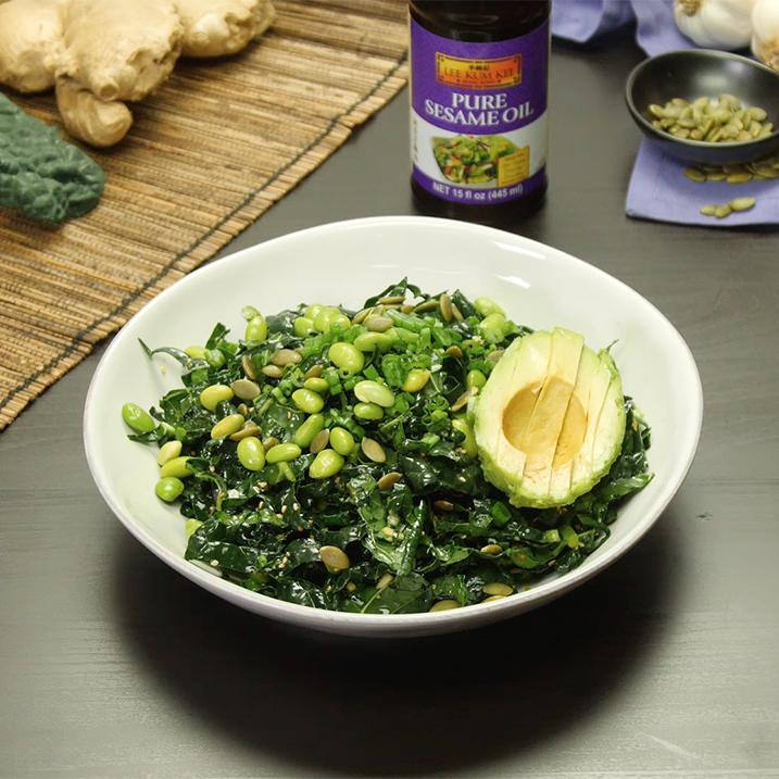 Recipe Super Green Kale Salad S