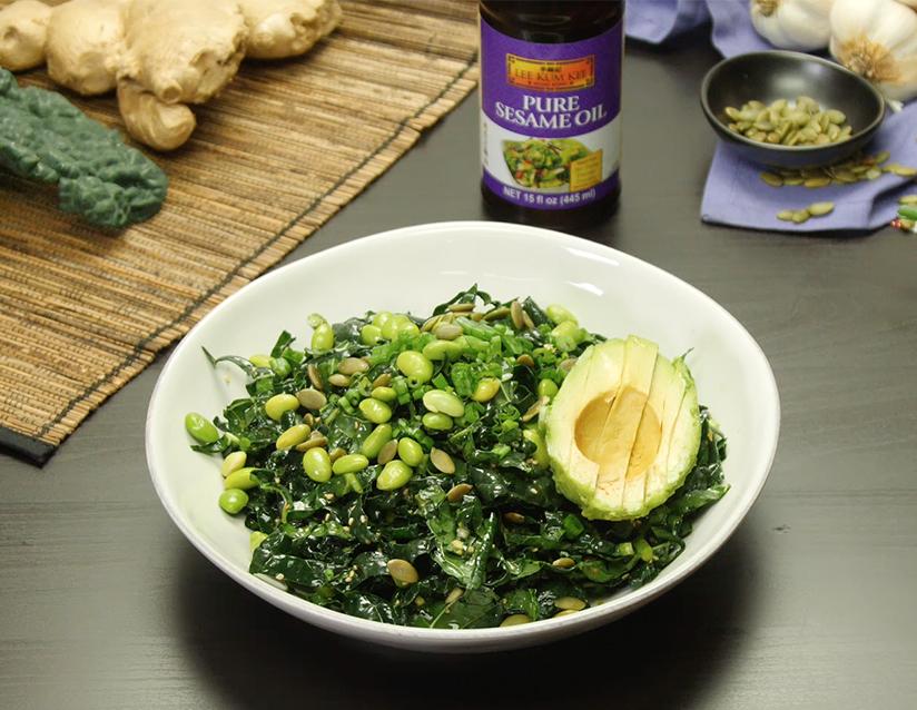 Recipe Super Green Kale Salad