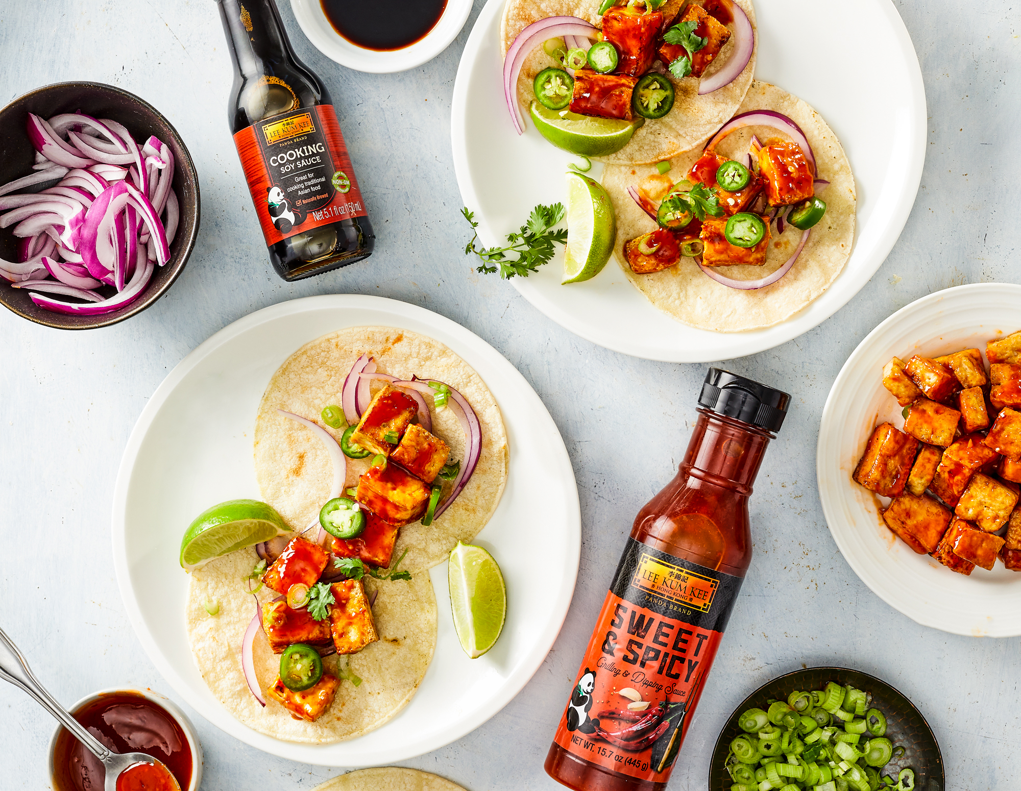 Recipe Sweet and Spicy Tofu Tacos