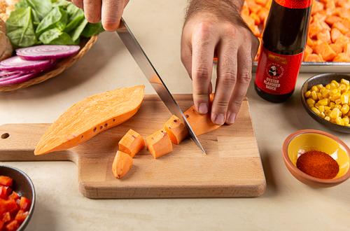 Recipe Sweet Potato Burgers_Step 1