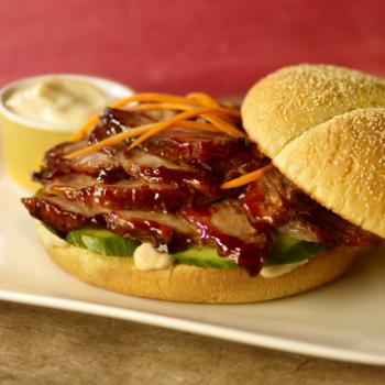 Recipe Sweet Pulled Pork Sandwich with Lee Kum Kee Hoisin Sauce S