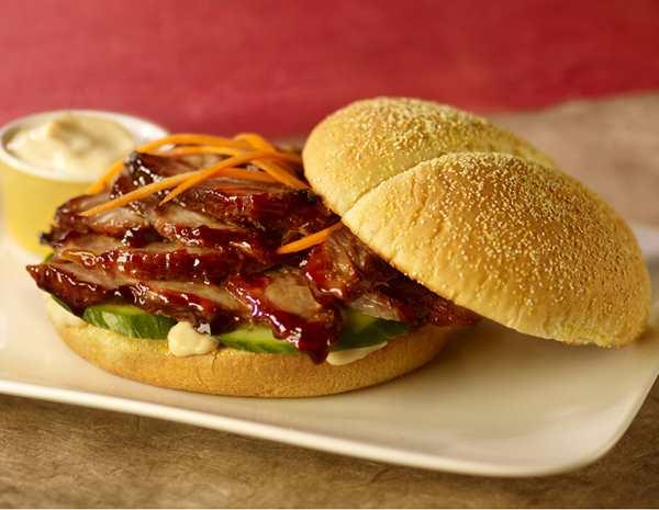 Recipe Sweet Pulled Pork Sandwich with Lee Kum Kee Hoisin Sauce