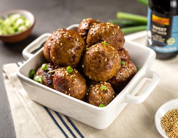 Recipe Sweet Soy Meatballs
