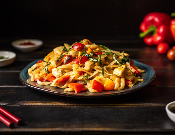 Recipe Thai Hot Pepper Linguini