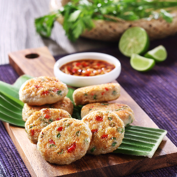 Recipe Thai-Style Pan-Fried Fish Patties