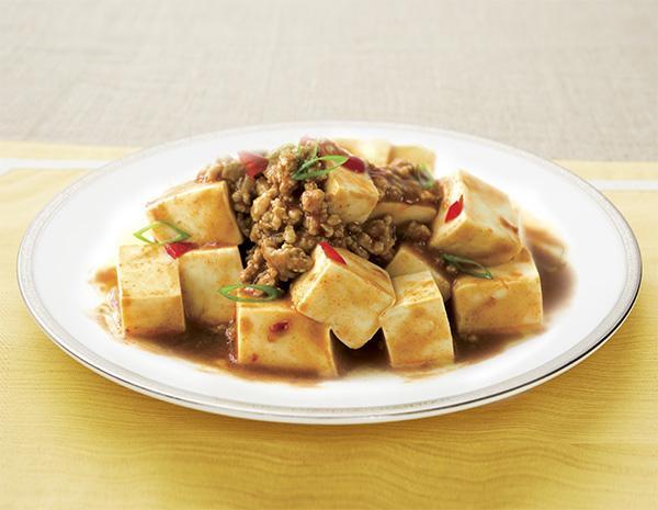 Recipe Tofu in Spicy Bean Sauce