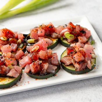 Recipe Tuna & Cucumber Bites S