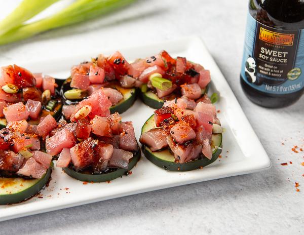 Recipe Tuna & Cucumber Bites