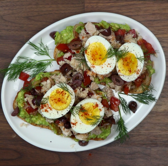 Recipe Tuna Nicoise Toast S