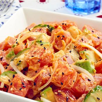 Recipe Tuna Poke with Sriracha Mayo