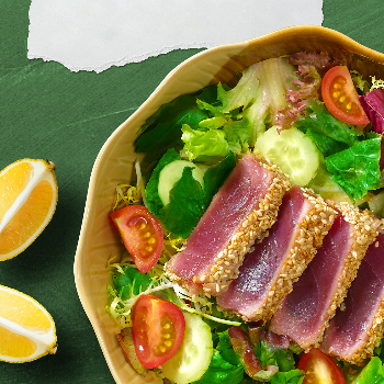 Recipe Tuna Salad with Oyster Sauce Dressing