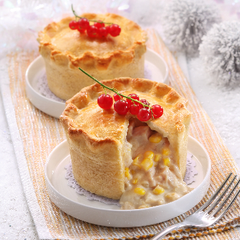Recipe Turkey and Corn Pie S