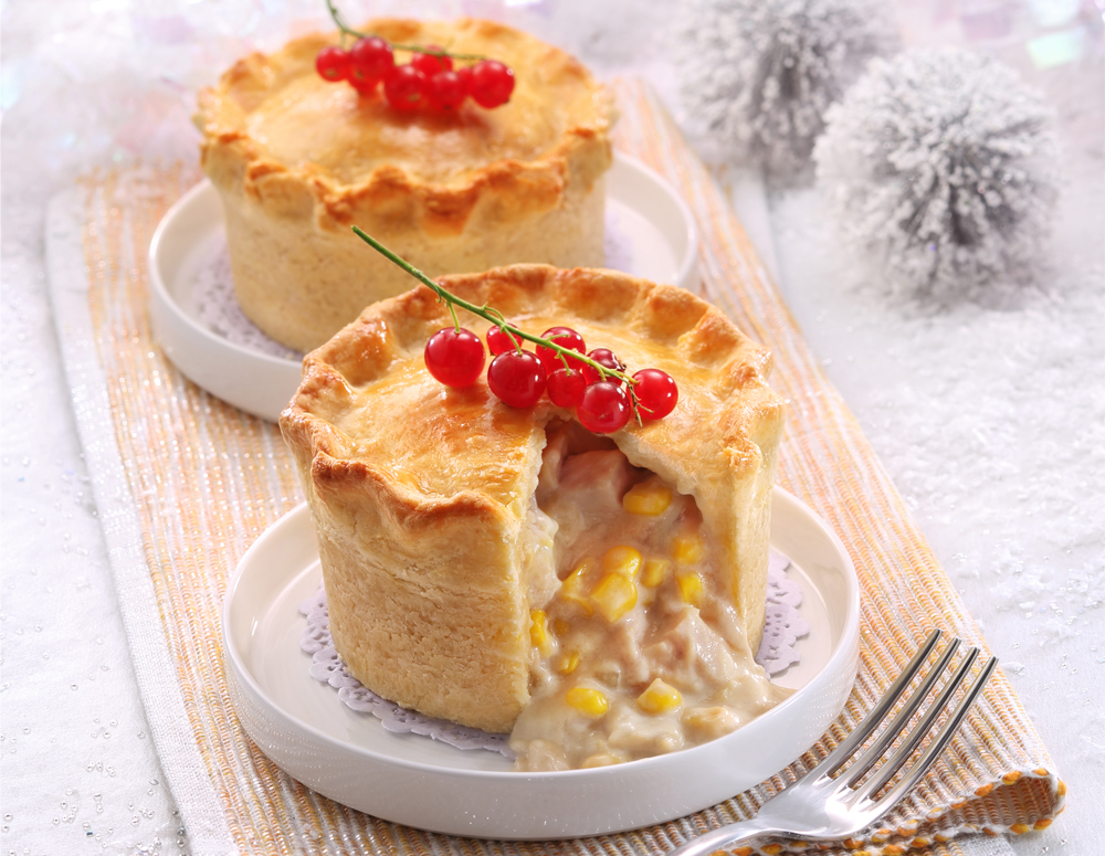 Recipe Turkey and Corn Pie