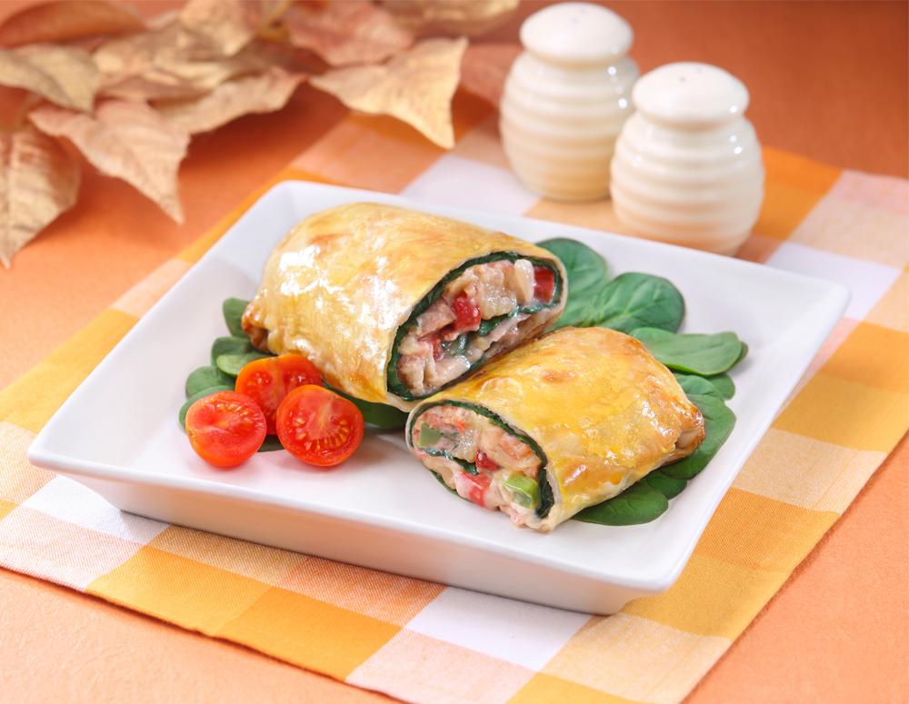 Recipe Turkey Filo Pastry Rolls