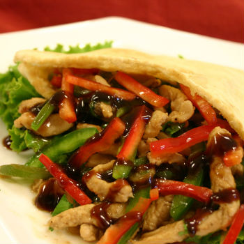 Recipe Turkey Wrap with oyster Flavored Sauce