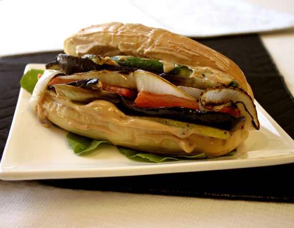 Recipe Vegetarian Sourdough Sandwich