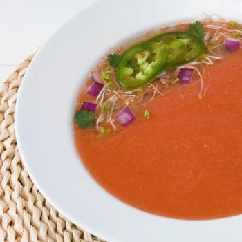 Recipe Watermelon Gazpacho S