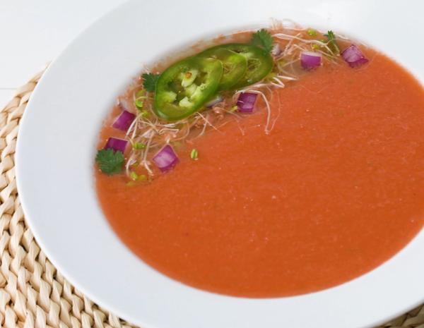 Recipe Watermelon Gazpacho