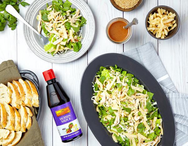 Recipe Wonton Happiness Salad