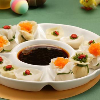 Recipe Wontons with Seasoned SS for Dumplings S