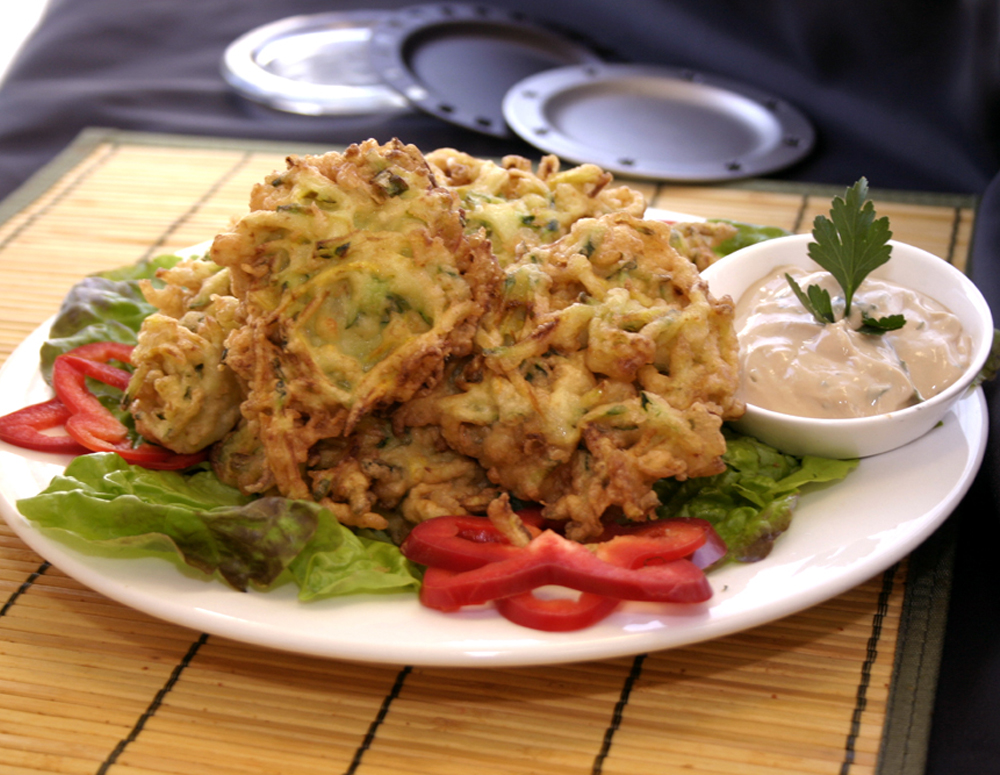 Recipe Zucchini Fritters with Lee Kum kee Hoisin Sauce