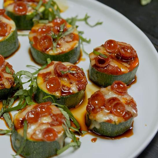 Recipe Zucchini Pizza Bites S