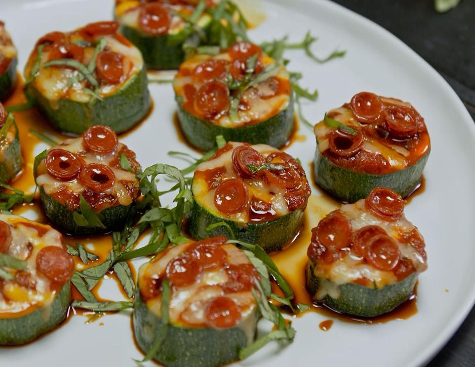 Recipe Zucchini Pizza Bites