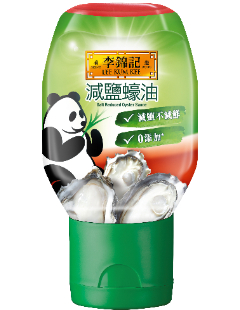減鹽蠔油 235克