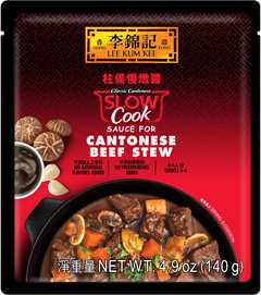 Slow Cook Sauce for Cantonese Beef Stew, 4.9 oz (140 g), Sauce Pack