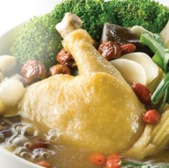 Drunken Chicken Hot Pot