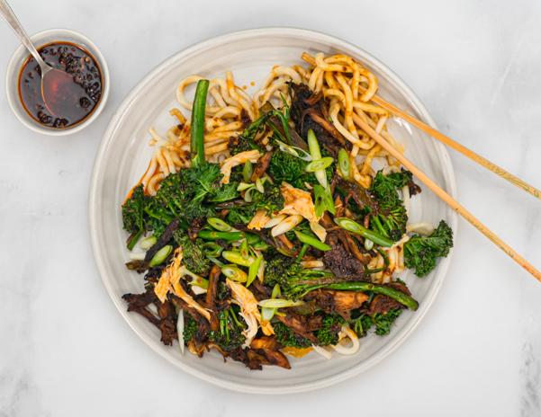 Sichuan Chicken Noodles