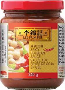 Sauce aux fèves de soja épicée, 240g, bocal