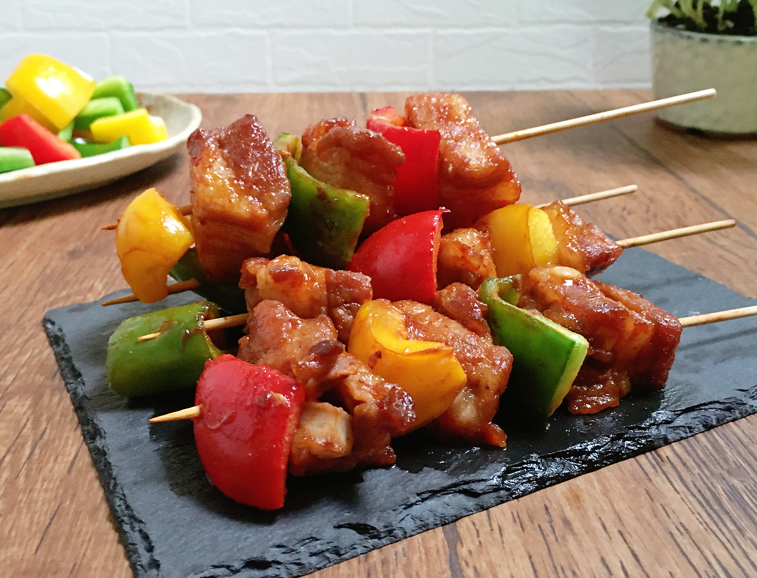 韓式烤五花肉串
