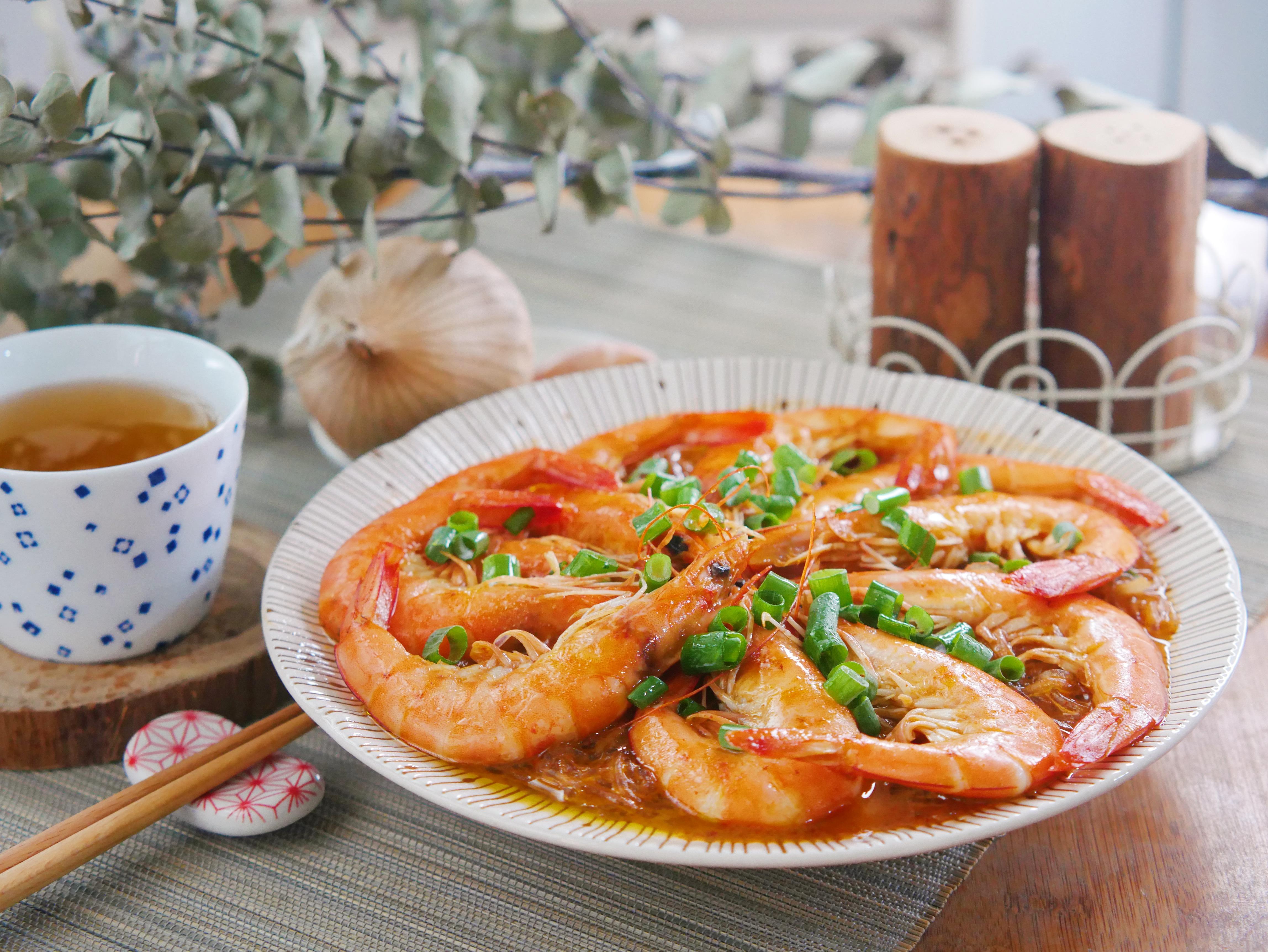 叻沙鮮蝦粉絲煲