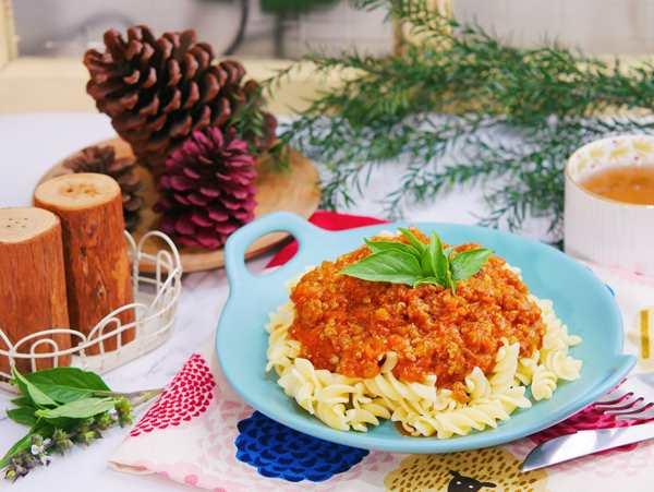 義式番茄肉醬螺旋麵