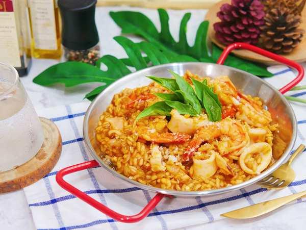 義式海鮮番茄燉飯