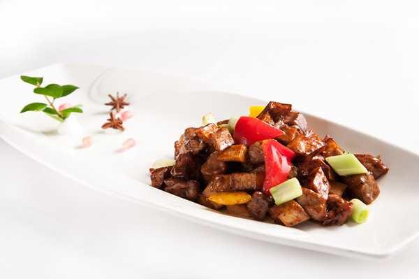 黑椒牛肉杏鮑菇