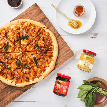 Sweet and Spicy Butternut Squash Pizza S