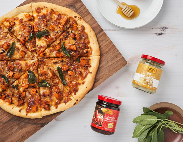 Sweet and Spicy Butternut Squash Pizza