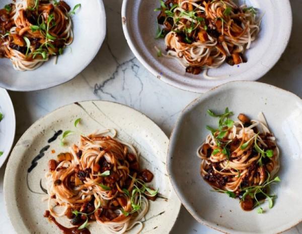 Vegan Friendly Sichuan Dan Dan Noodles