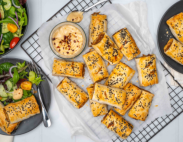 Web Res Sausage Rolls with an Asian Twist Topdown Landscape