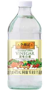 Seasoned White Vinegar, 16 fl oz (1 pt) 473 mL, Bottle