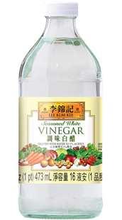 調味白醋, 16 fl oz. (1 pt) 946 mL, 瓶裝