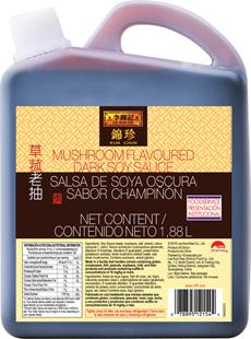Mushroom Flavored Dark Soy Sauce 1880ML