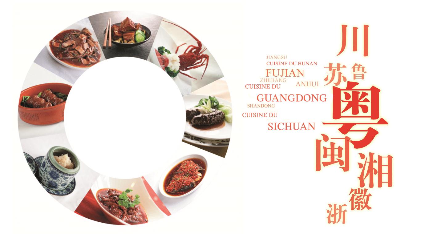 Les huit grandes traditions de la cuisine chinoise
