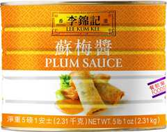Plum Sauce, 5 lb 1 oz (2.31 kg) can