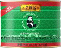 Panda Brand Green Label Oyster Flavored Sauce, 5 lb can